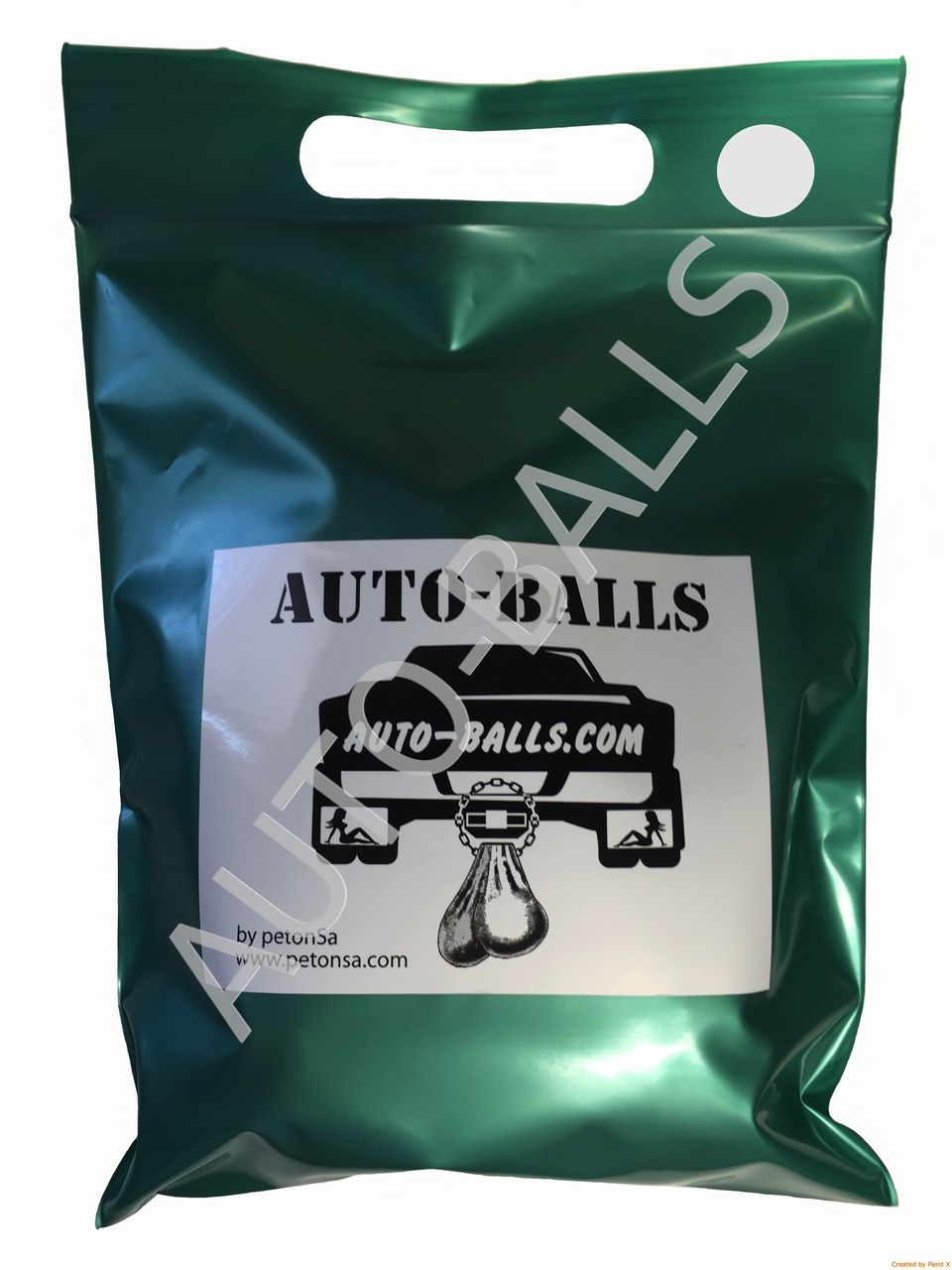 Auto-Balls White, made in USA