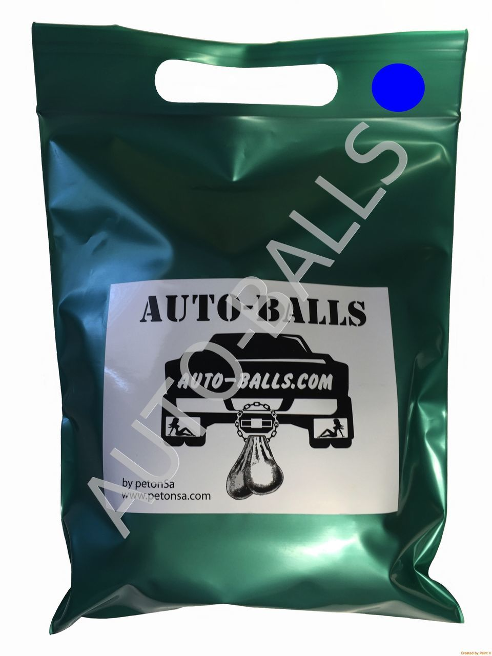 Auto-Balls Blue, made in USA