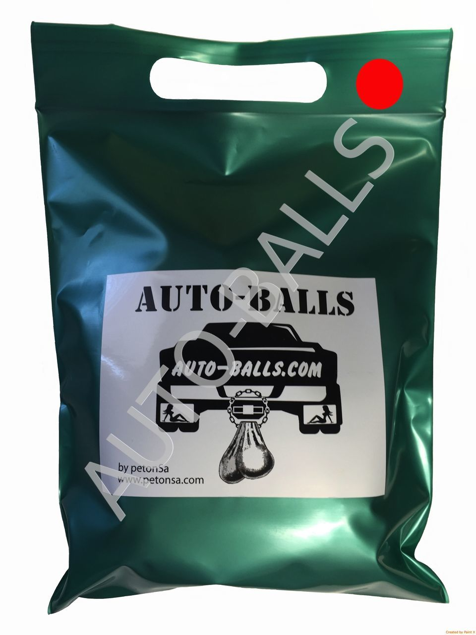 Auto-Balls Red, made in USA